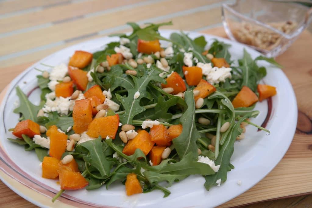 Rucola-Kürbis-Salat