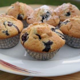 Blaubeer-Buttermilch-Muffins