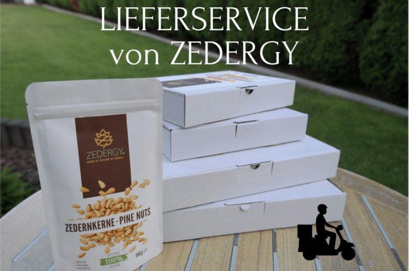 Lieferservice von Zedergy