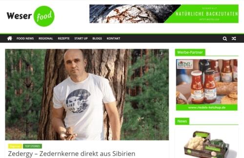 Weser-food-online-magazin-berichtet-über-Zedergy